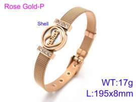 Stainless Steel Rose Gold-plating Bracelet