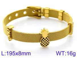 Stainless Steel Gold-plating Bracelet